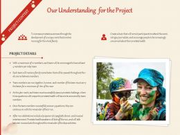 Our Understanding For The Project Ppt Powerpoint Presentation Summary Picture