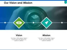 Our Vision And Mission C313 Ppt Powerpoint Presentation Pictures Good