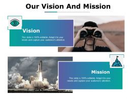 Our Vision And Mission Ppt Portfolio Graphic Tips