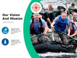 Our Vision And Mission Ppt Styles Gallery
