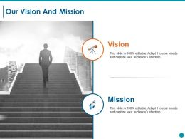 Our Vision And Mission Ppt Styles Templates