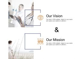 Our Vision And Our Goal C134 Ppt Powerpoint Presentation Model Influencers