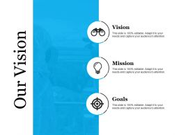 Our Vision Good Ppt Example