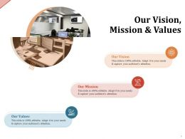 Our Vision Mission And Values M2066 Ppt Powerpoint Presentation Outline Slides