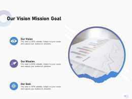 Our Vision Mission Goal Capture M1702 Ppt Powerpoint Presentation Portfolio Summary