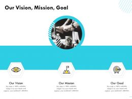 Our Vision Mission Goal M1590 Ppt Powerpoint Presentation Ideas Layouts