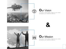 Our Vision Mission H83 Ppt Powerpoint Presentation Professional Visuals