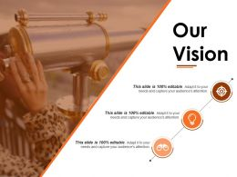 Our Vision Powerpoint Slide Background