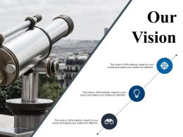 Our Vision Powerpoint Slide Information Template 2