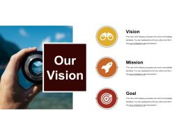 Our Vision Powerpoint Slide Presentation Guidelines