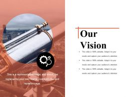 Our Vision Powerpoint Slides Templates