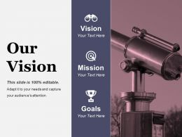 Our Vision Ppt Images Gallery