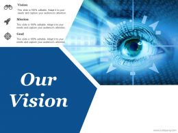 Our Vision Ppt Pictures Graphic Images