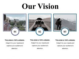 Our Vision Ppt Presentation Examples