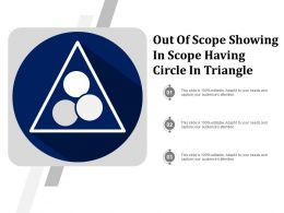 Out Of Scope Showing In Scope Having Circle In Triangle