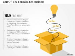 out_of_the_box_idea_for_business_flat_powerpoint_design_Slide01