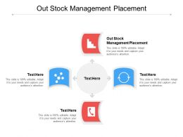 Out Stock Management Placement Ppt Powerpoint Presentation Pictures Example Cpb