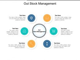 Out Stock Management Ppt Powerpoint Presentation Outline Deck Cpb