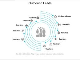 Outbound Leads Ppt Powerpoint Presentation Portfolio Graphics Tutorials Cpb