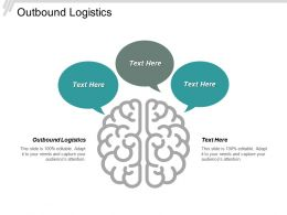 Outbound Logistics Ppt Powerpoint Presentation Summary Background Images Cpb