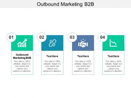 Outbound Marketing B2B Ppt Powerpoint Presentation Styles Background Cpb