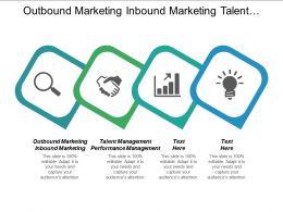 Outbound Marketing Inbound Marketing Talent Management Performance Management Cpb