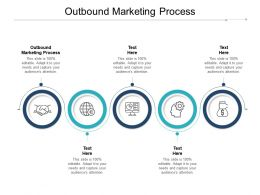Outbound Marketing Process Ppt Powerpoint Presentation Show Elements Cpb