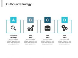 Outbound Strategy Ppt Powerpoint Presentation Pictures Skills Cpb