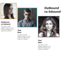 Outbound Vs Inbound Ppt Powerpoint Presentation Pictures Slide Portrait Cpb