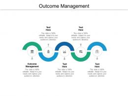 Outcome Management Ppt Powerpoint Presentation Gallery Objects Cpb