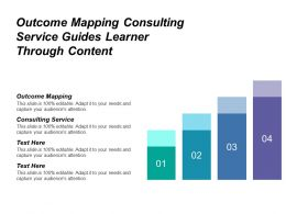Outcome Mapping Consulting Service Guides Learner Through Content