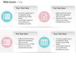 Outdent List File Text Table Ppt Icons Graphics