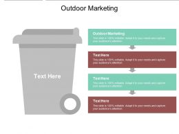 Outdoor Marketing Ppt Powerpoint Presentation Deck Cpb