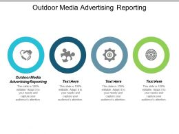 Outdoor Media Advertising Reporting Ppt Powerpoint Presentation Show Inspiration Cpb