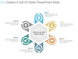 Outline A Set Of Skills Powerpoint Slide