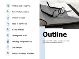 Outline Business Ppt Portfolio Professional