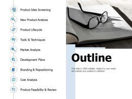 Outline Business Ppt Portfolio Professional