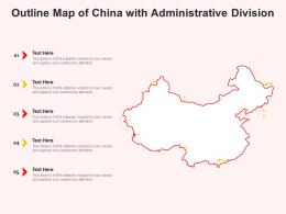 Outline Map Of China With Administrative Division