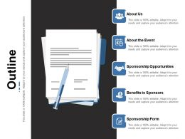 Outline Ppt Infographic Template Skills