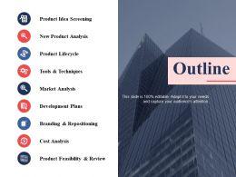 Outline Ppt Professional Graphics Design