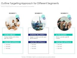 Outline Targeting Approach For Different Segments Internet Marketing Strategy And Implementation