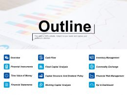 Outline Working Capital Analysis Ppt Professional Slide Download