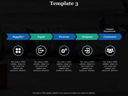 Outputs Supplier Ppt Inspiration Infographic Template