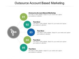 Outsource Account Based Marketing Ppt Powerpoint Presentation Summary Format Ideas Cpb