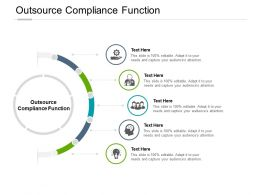 Outsource Compliance Function Ppt Powerpoint Presentation Summary Cpb