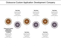 Outsource Custom Application Development Company Ppt Powerpoint Presentation Infographic Template Microsoft Cpb