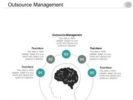 Outsource Management Ppt Powerpoint Presentation Diagram Graph Charts Cpb