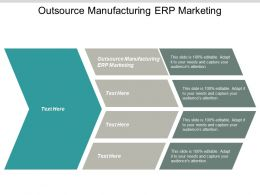 Outsource Manufacturing ERP Marketing Ppt Powerpoint Presentation Portfolio Objects Cpb