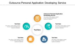 Outsource Personal Application Developing Service Ppt Infographics Slideshow Cpb