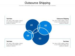 Outsource Shipping Ppt Powerpoint Presentation Slides Example File Cpb
